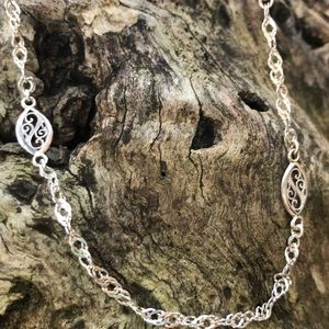 """18"""" Sterling Silver Milor Italy Chain Necklace"""